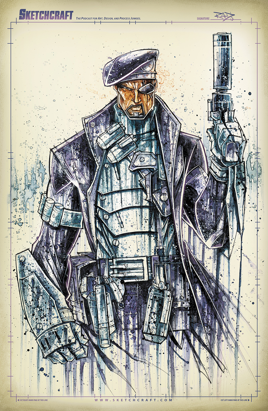 Nick Fury Saucy by RobDuenas