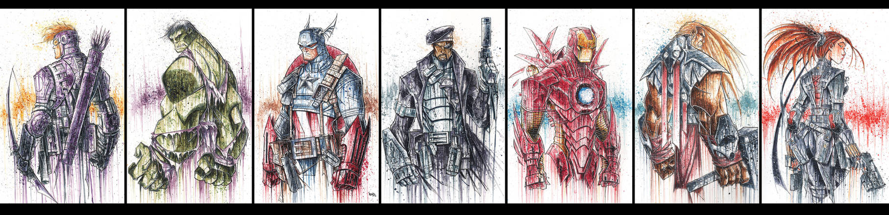 Avengers 'Saucy' Prints FINAL