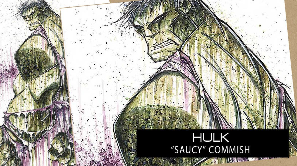 SpeedPaint: Hulk by RobDuenas
