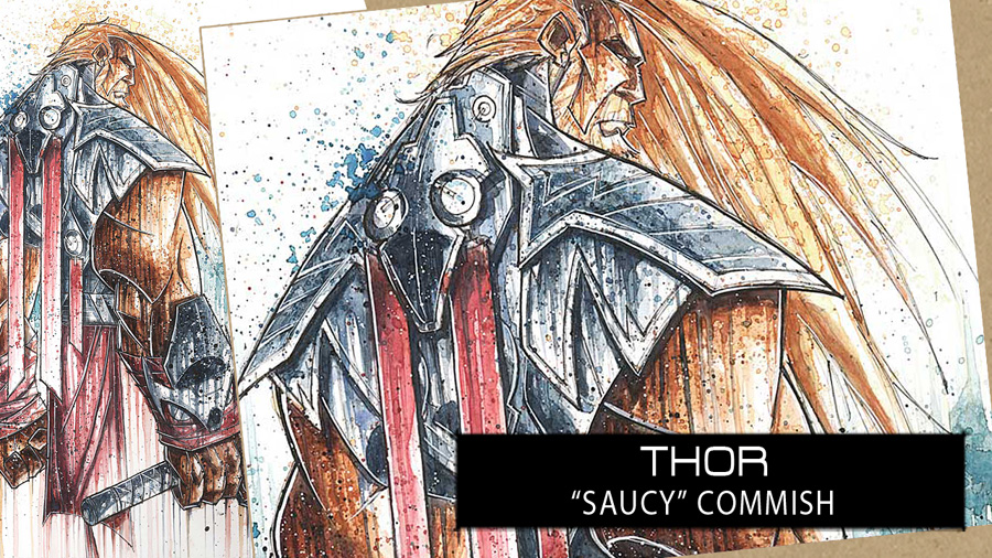 SpeedPaint: Thor by RobDuenas