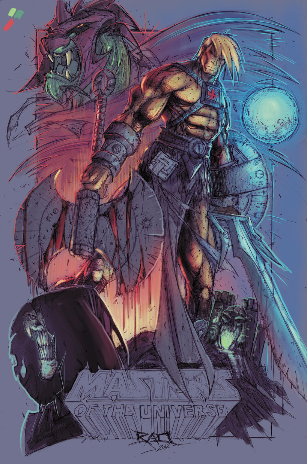 Masters of Universe Color WIP 01 by RobDuenas