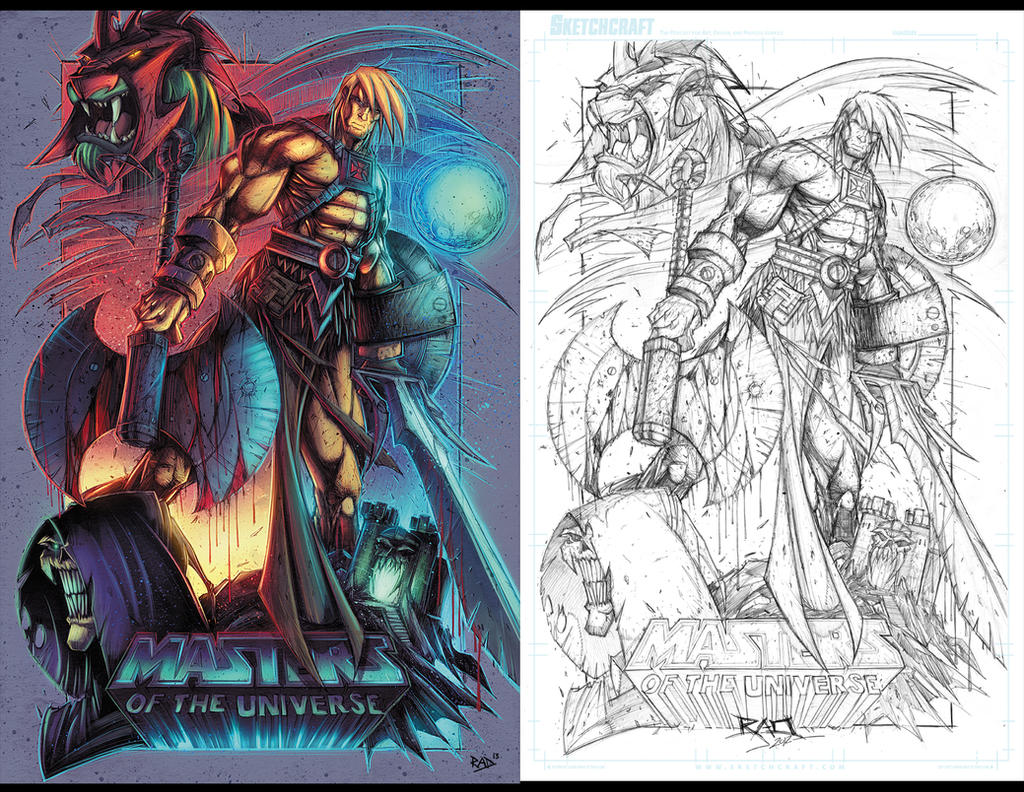 Masters of the Universe Prints by RobDuenas