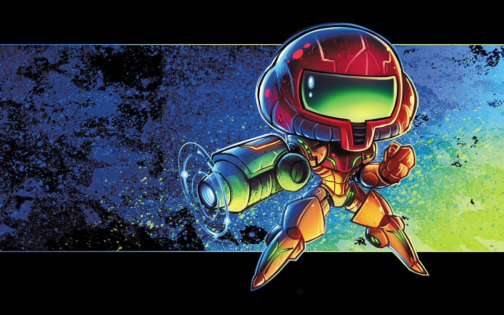 Metroid Chibi by RobDuenas