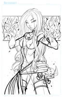 Commish 116 WIP 01 by RobDuenas