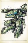 Metal Gear by RobDuenas