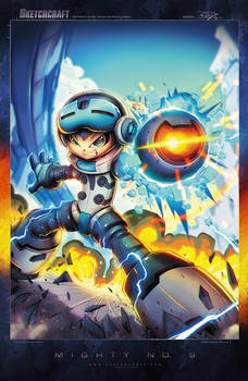 Mighty No 09 Cover Art