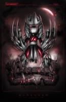 TMNT Mini Shredder Noir by RobDuenas