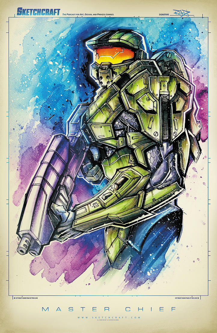 MASTERCHIEF SUAVE by RobDuenas
