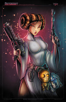 STAR WARS LEIA FIN