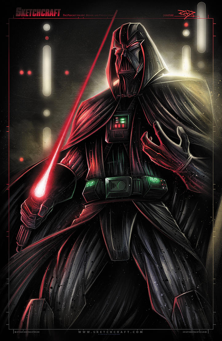 STAR WARS VADER FIN by...