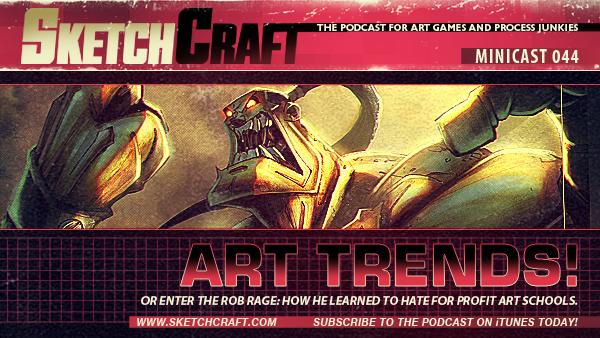 Sketchcraft Minicast 044 by RobDuenas
