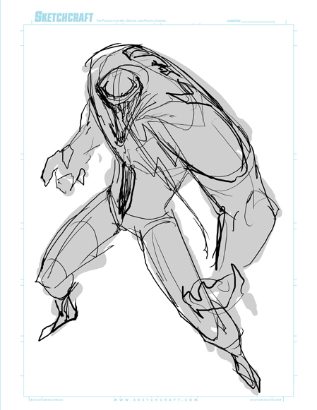 Commish 159 WIP 01 by RobDuenas