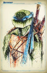 TMNT Saucy Leo by RobDuenas