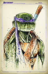 TMNT Saucy Donny by RobDuenas