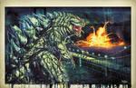 Godzilla Saucy