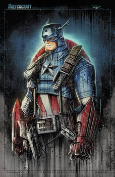 Captain America Super Saucy