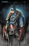 Captain America Super Saucy by RobDuenas