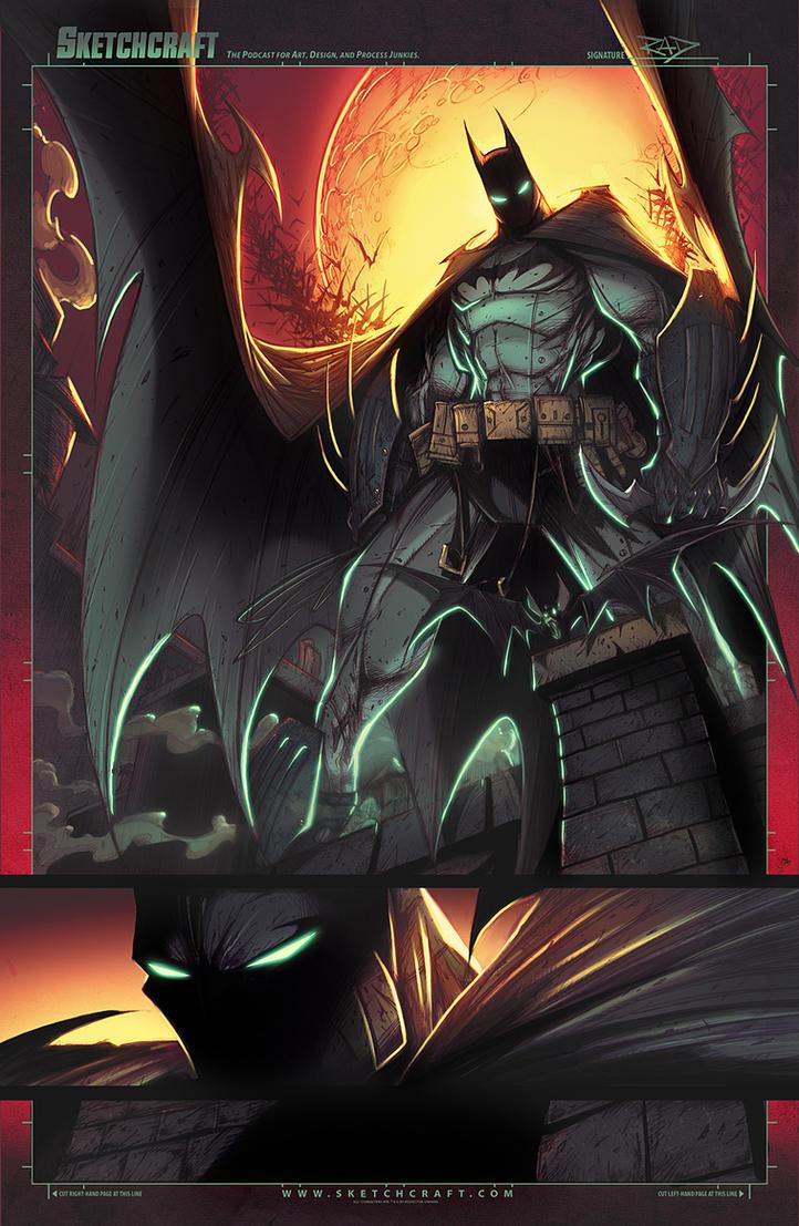 Batman Arkham Knight by RobDuenas