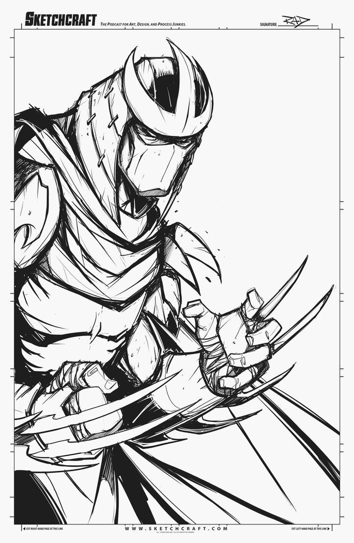 Sketches@Midnight 023 by RobDuenas