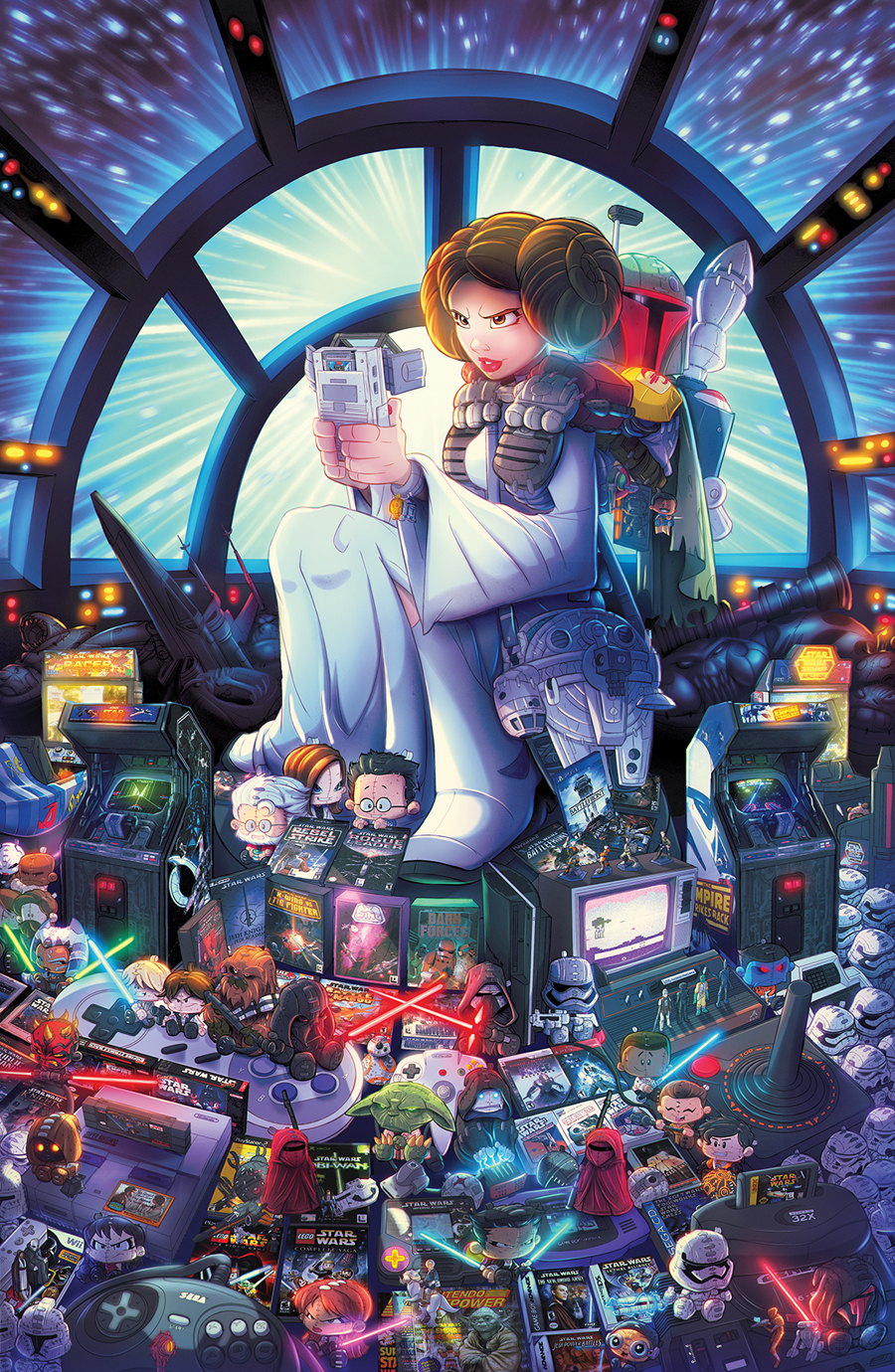 Star Wars Gaming Tribute by RobDuenas