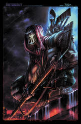 TMNT Casey Jones Digitpaint by RobDuenas