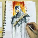 Batman v Superman Armor Con Saucy