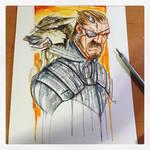 Metal Gear Solid 5 Saucy Sketch
