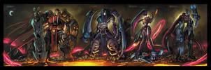 Darksiders Ruffies by RobDuenas