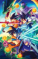 Dragon Ball Z Ruffy by RobDuenas