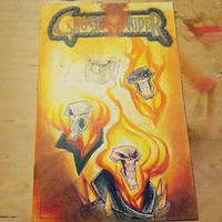 Sketchcover: Ghost Rider by RobDuenas