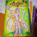 Commision: Batgirl - Copics