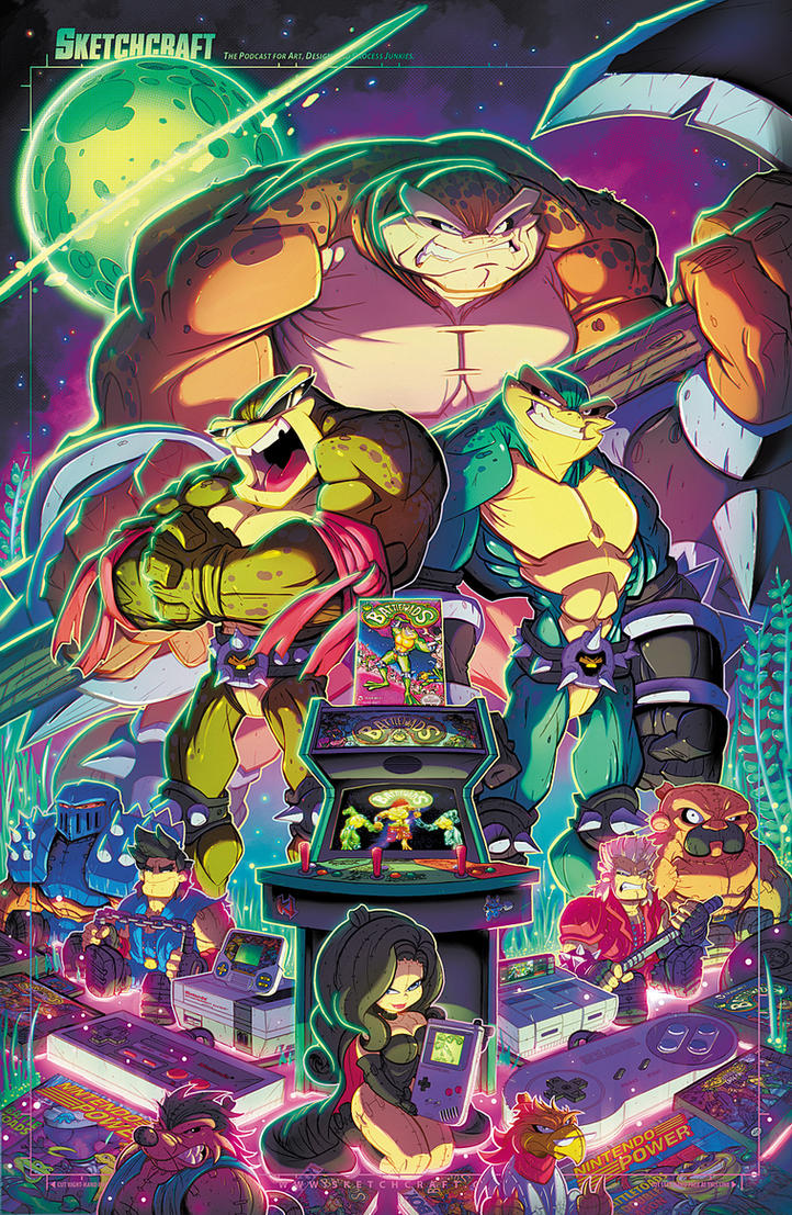 Battletoads Final by RobDuenas