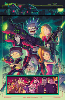Rick and Morty: Total Rickall Tribute