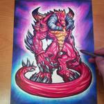 Commission: Diablo Heroes of the Storm - Copics