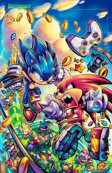 Sonic Fighters Cover Final