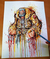 Old Man Logan Saucy by RobDuenas