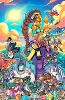 Megavisions Cover 06: Power Stone Tribute by RobDuenas