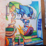 Sonic Hedgehog Commish