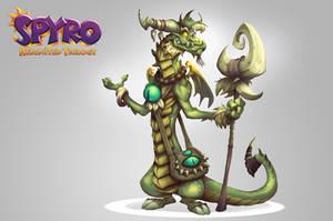Spyro Reignited Trilogy - Roscoe by RobDuenas