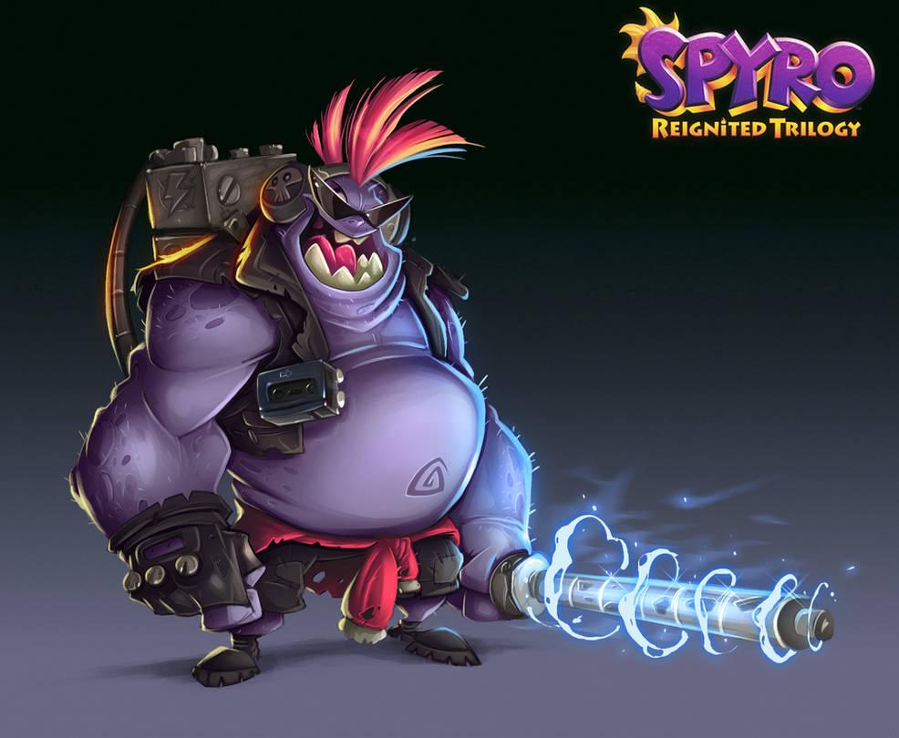 Spyro Reignited Trilogy - Laser Gnorcs by RobDuenas