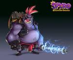 Spyro Reignited Trilogy - Laser Gnorcs