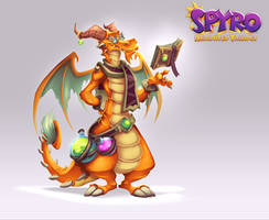 Spyro Reignited Trilogy - Cedric by RobDuenas