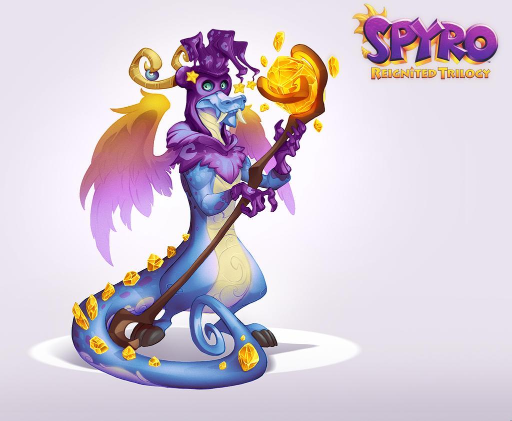 Spyro Reignited Trilogy - Obassi by RobDuenas