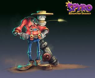 Spyro Reignited Trilogy - Robotica Farms by RobDuenas