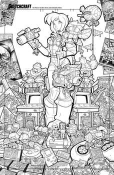 Teenage Mutant Ninja Turtles  Tribute Linearts