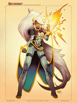 Commission: 90s X-Men Storm