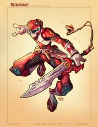 Commish 2020: Red Power Ranger Final