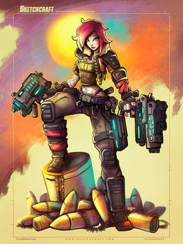 Commish 2020: Borderlands 3 Lilith