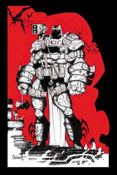 Dark Knight Returns 1995 - Knightwar Commish