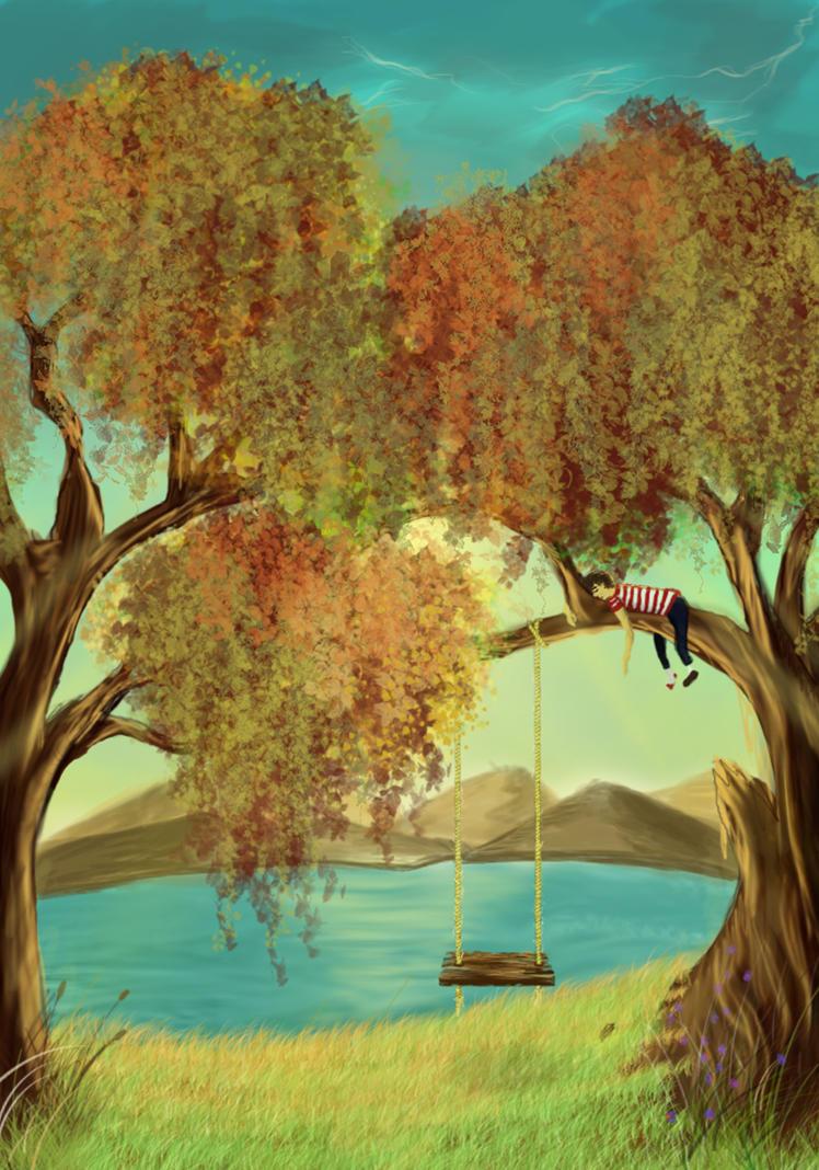 peaceful dream by Kiiiarella